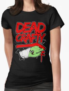 Dead Crafty Dead Handed Tee Womens Fitted T-Shirt