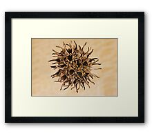 Dispersed Framed Print