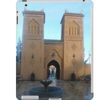 Atlas 2 towers 2 travel iPad Case/Skin