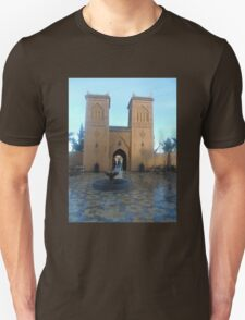 Atlas 2 towers 2 travel tshirt T-Shirt