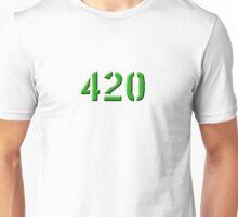 420 green 0001 Unisex T-Shirt