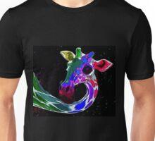 Psychedelic Giraffe Unisex T-Shirt