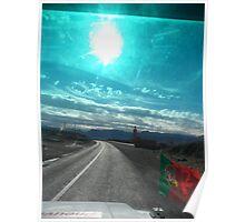 Atlas sky 2travel Poster