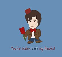 Dr Who Valentines: Both my Hearts by Alice Edwards