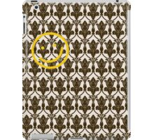 BBC Sherlock Holmes Damask Wallpaper Pattern iPad Case/Skin