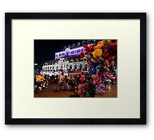fountain intersection Framed Print