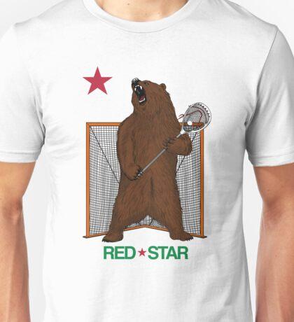 Red Star Bear Goalie Unisex T-Shirt