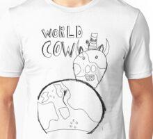 World Cow (black) Unisex T-Shirt
