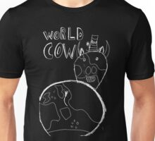 World Cow (white) Unisex T-Shirt