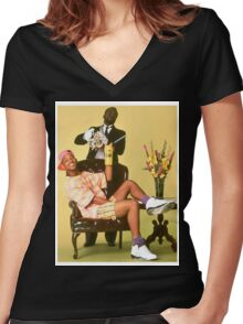 Prince of Bel Air Women's Fitted V-Neck T-Shirt