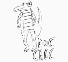 Doc Croc (black) by MichaelAshMash