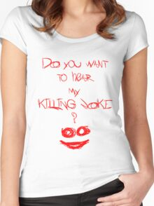 Killing joke 2 Women's Fitted Scoop T-Shirt