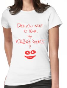 Killing joke 2 Womens Fitted T-Shirt