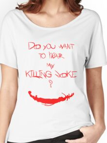 Killing joke 1 Women's Relaxed Fit T-Shirt