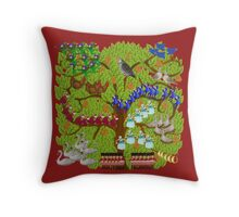 Twelve Days of Christmas Throw Pillow
