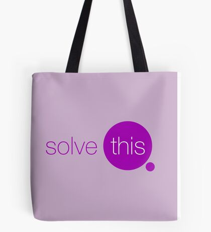 Solve This Tote Bag