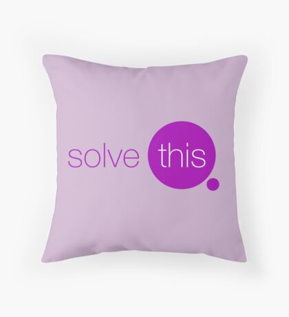 Solve This Throw Pillow