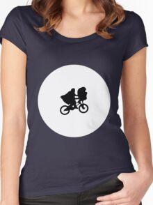 Steven Spielberg's ET Women's Fitted Scoop T-Shirt