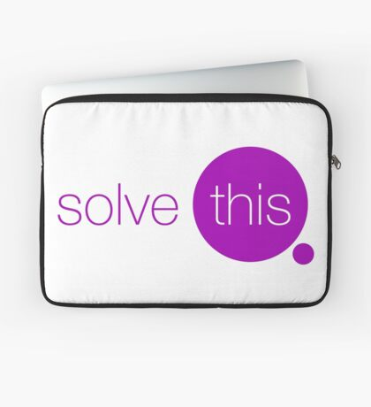Solve This Laptop Sleeve