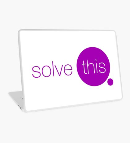 Solve This Laptop Skin