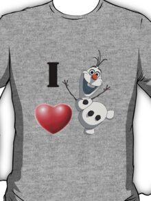 I love Olaf T-Shirt