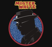 Mister White comic by Jalop