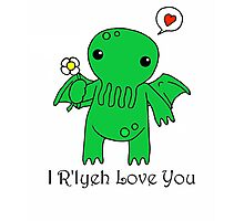 Cthulhu Valentines Card Photographic Print