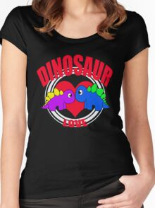 Dino Women's Fitted Scoop T-Shirt