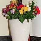 Samarai Flowers by Debbie Cato