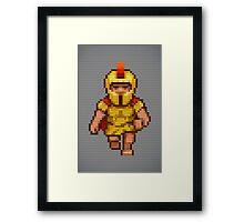Pixel Legionary Framed Print