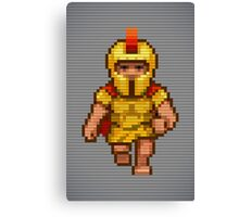 Pixel Legionary Canvas Print