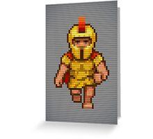 Pixel Legionary Greeting Card