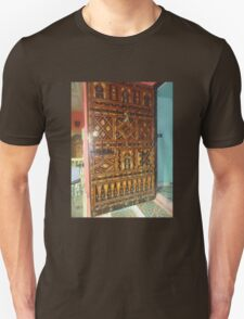 Atlas Travel Door Work Tshirt T-Shirt