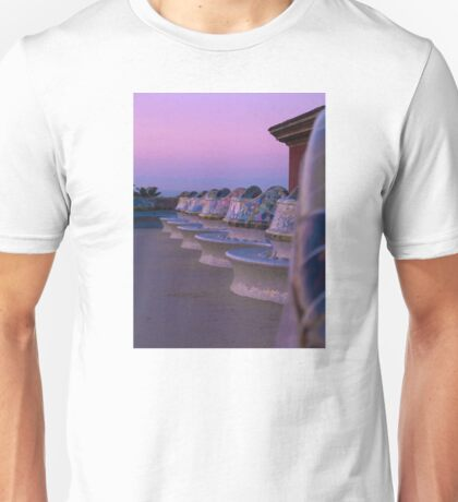 Sunrise in Parc Guell Unisex T-Shirt