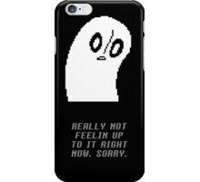 Undertale - Napstablook iPhone Case/Skin