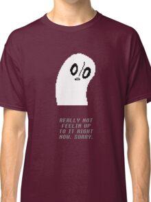 Undertale - Napstablook Classic T-Shirt