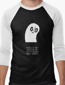 Undertale - Napstablook Men's Baseball ¾ T-Shirt