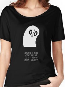 Undertale - Napstablook Women's Relaxed Fit T-Shirt