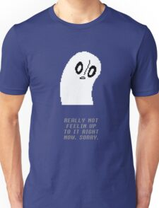 Undertale - Napstablook Unisex T-Shirt