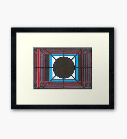 Japanese Prototype Framed Print