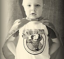 Little Boys Are Superheros by Evita