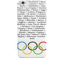 History of the Olympics iPhone Case/Skin
