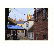 The Craft Village In February Art Print