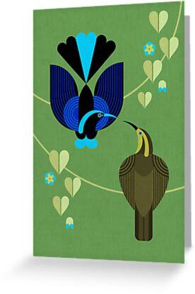 Bird of Paradise 7 by Scott Partridge