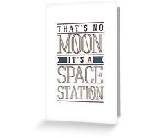 Space Station Greeting Card