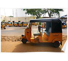 Auto Rickshaw Poster
