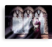 Outlaw Queen - Christmas In the Camelot Castle Canvas Print