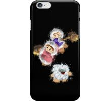 Abstract Ice Climber Duo iPhone Case/Skin