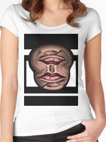 Batmouth Man Women's Fitted Scoop T-Shirt