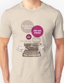 To Sherlock Holmes… Unisex T-Shirt